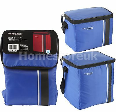 Genuine Thermos Cooler Cooling Blue Bag Cool Box Insulated Camping Food Storage