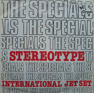 "7"" ´1980 RARE IN MINT- ! THE SPECIALS : Stereotype"
