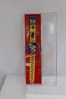 Collectible 1999 Frisch's, Bobs, or Shoneys Big Boy with hamburger Watch
