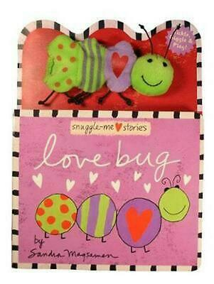 Love Bug [With Finger Puppet] by Sandra Magsamen Board Books Book (English)