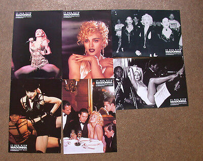 In Bed With Madonna Lobby Cards German Version [K3]