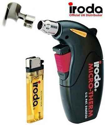 Hot Air Heat Gun Mini Cordless Refillable Gas Blow Torch, Heat Shrink, Soldering