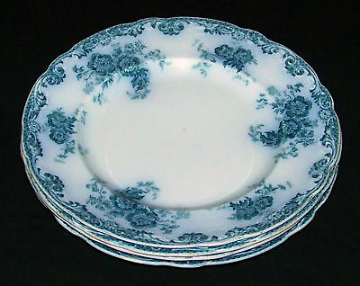 (4) Alfred Meakin Glenmere Flow Blue Dinner Plates