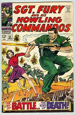 Sgt. Fury Commandos #55 June 1968 VG