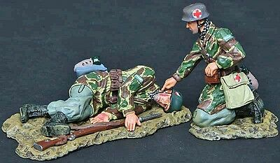 Thomas Gunn Ww2 German Fj007A Fallschirmjager Medic Normandy Mib