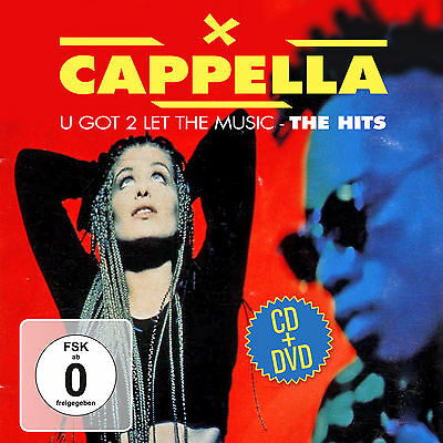DVD CD Cappella U Got 2 Let The Music - The Hits 2CDs + DVD