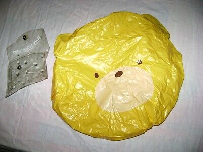 FANCY FRIENDS 70s Sanrio Japan  shower cap Bear Misb