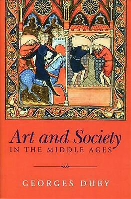 Art and Society in the Middle Ages by Georges Duby (English) Paperback Book Free