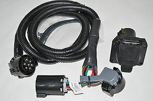 dodge ram truck trailer tow wiring harness 7 way in bed for rh picclick com