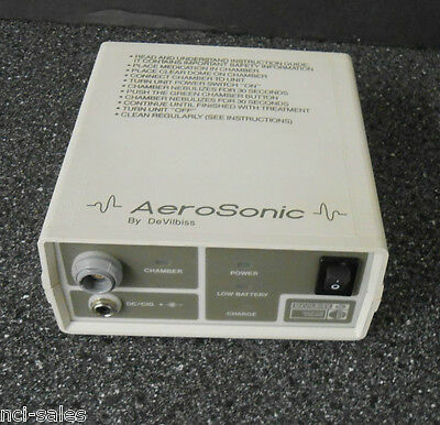 Devilbiss Ultrasonic Nebulizer 5000 Aerosonic Unit