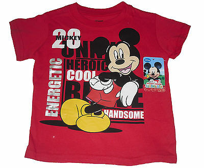 Baby Boys T-Shirt Top Disney Mickey Mouse