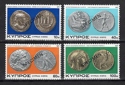 Cyprus 1977 Ancient Cypriot Coins Ii - Specimen Mnh