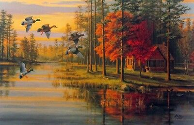 Two prints for one price Mary Pettis Autumn Glow and Quiet Evening