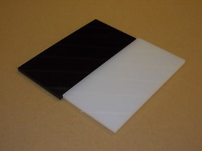 6 mm Nylon extruded sheet 100 mm x 100 mm Engineering plate-machining-wear strip
