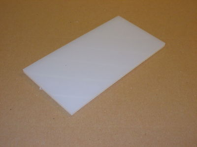 3 mm Natural NYLON6 extruded sheet 300 mm x 100 mm engineering material