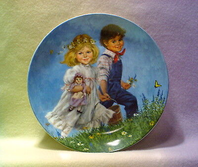 """jack And Jill"" Reco Collection *artist John Mcclelland* 8 Inches"
