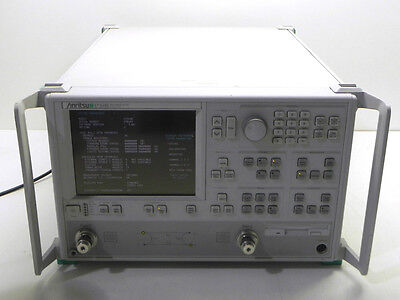 Anritsu 37269B  40 GHz Vector Network Analyzer with option 2A, w/ANR cal