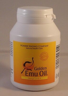 Golden Emu Oil Capsules Omega 3, 6 &9  500mg (120)