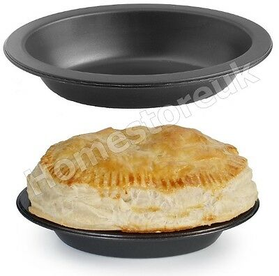 Easy Release & Clean Non Stick Oval Pie Cake Dish Tin Metal Oven Baking 7166