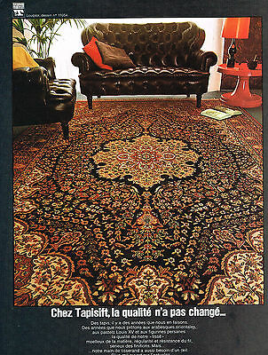Other Breweriana Collectibles Publicite Advertising 054 1971 Tapisift Tapis