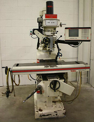 Tri-onics Handyman II 3-Axis Tool Room CNC Knee Mill