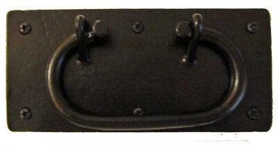 F-4298 Large Steel Trunk, Chest Handle
