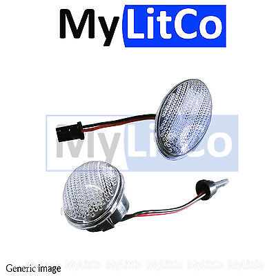 CLEAR LED MARKER MNS1 upgrade MINI R50 R53 R52 SIDE INDICATOR REPEATER LIGHT