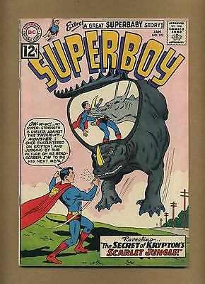 Superboy 102 (Strict VG) Nice!  Silver Age D.C. (id# 8250)