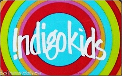 CHAPTERS BOOKSTORE INDIGO KIDS ENGLISH / FRENCH NO VALUE COLLECTIBLE GIFT CARD