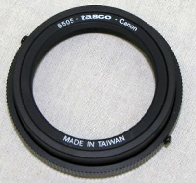 CANON T ring to adapt cameras to telescopes