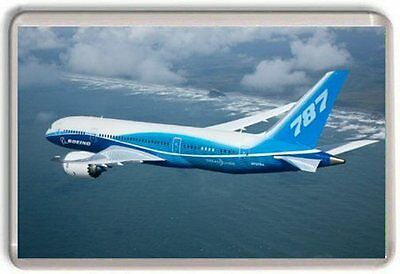 Boeing 787 Dreamliner Fridge Magnet 01