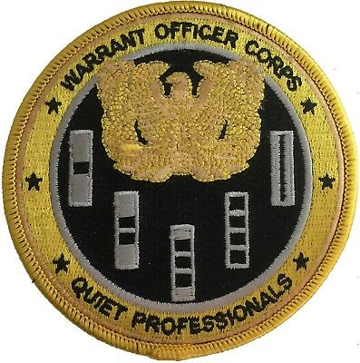 Warrant Officer Patch (Yellow)