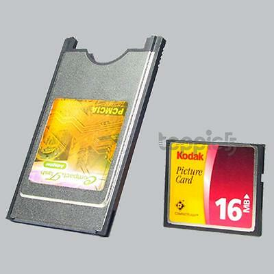 CF Compact Flash Card To PCMCIA PC Card Reader Adapter