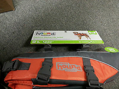 Outward Hound Orange Pet Dog Safety Life Jacket Vest LifeJacket Sizes Reflective