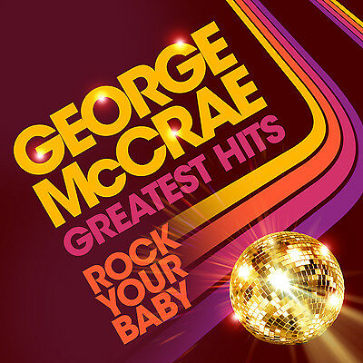 CD George McCrae Rock Your Baby Greatest Hits 2CDs