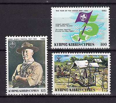 Cyprus 1982 Year Of The Scout Mnh