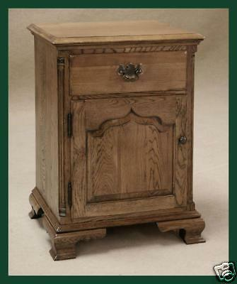 Solid Oak Bedside Cupboard