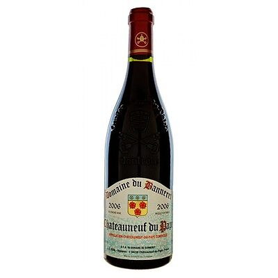 6 bt  CHATEAUNEUF DU PAPE 2013  DOMAINE DU BANNERET (FROM JANUARY 2016)