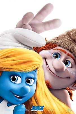 SMURFS 2 - Orig 2013 D/S Adv B movie poster - NEIL PATRICK HARRIS, KATY PERRY