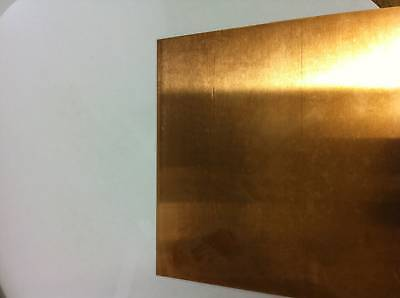 Quality Copper sheet 0.5mm thick 300mm x 100mm