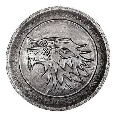 NEW* HBO Game of Thrones Authentic Prop - Stark Direwolf Shield Pin Brooch - Ned