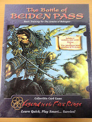 Legend of the Five Rings,The Battle Of Beiden Pass,Ed.AEG 1996 (INGLES)