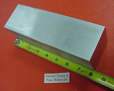 "2-1/2"" X 2-1/2"" ALUMINUM 6061 SQUARE SOLID BAR 8"" long T6511 Flat Mill Stock 2.5"