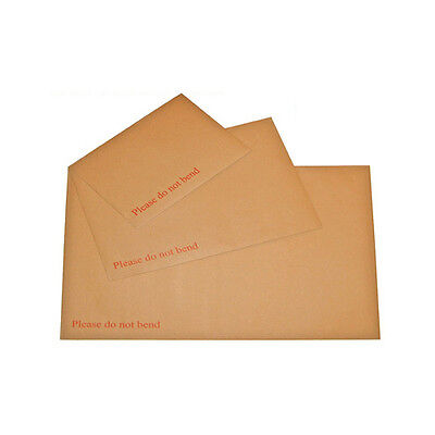 A3 A4 A5 A6 Hard Board Backed Envelopes (MANILLA)Please Do Not Bend MULTILISTING