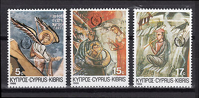 Cyprus 1986 Christmas, International Peace Year Mnh