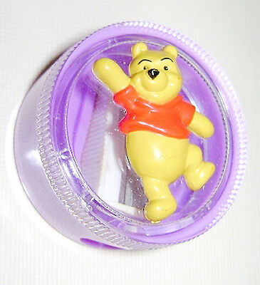 WINNIE THE POOH Walt Disney 2000 sharpener with figure - temperino Mint