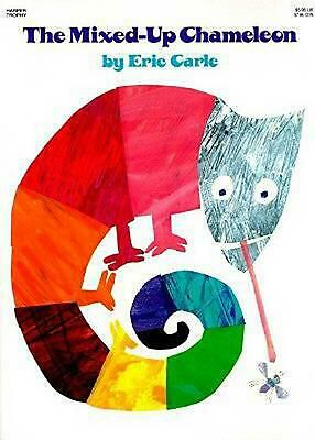 The Mixed-Up Chameleon by Eric Carle (English) Paperback Book Free Shipping!