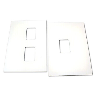 Single Window Comm Upper Door Panel Assembly White W02380-G1