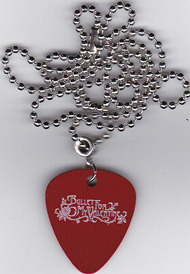 Bullet For My Valentine Guitar Pick  Pendant Necklace Custom Engraved