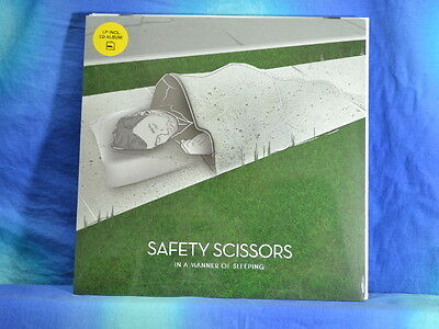 Safety Scissors - In A Manner Of Sleeping, LP + CD, neu/OVP